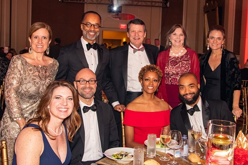 Greater Washington Heart Ball group picture