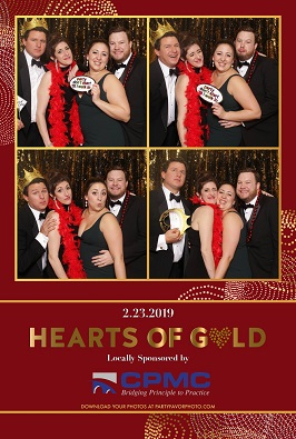 Greater Washington Heart Ball photo booth picture
